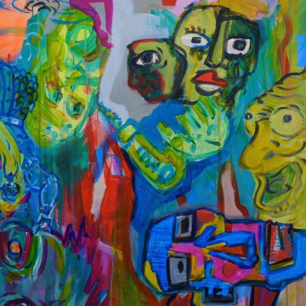 Gerke Procee kunstwerk Gewaarwurding (detail 1)