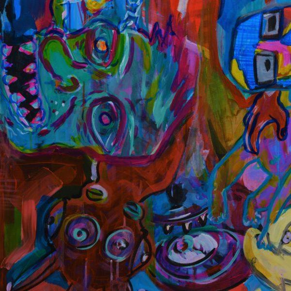 Gerke Procee kunstwerk Gewaarwurding (detail 2)
