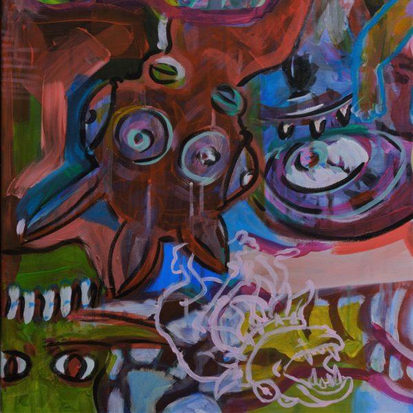 Gerke Procee kunstwerk Gewaarwurding (detail 3)